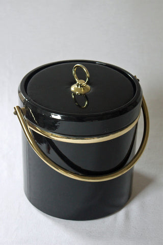 Patent Leather Ice Bucket