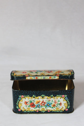Floral Chest Tea Tin