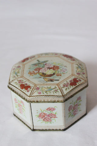 Octagonal Tea Tin