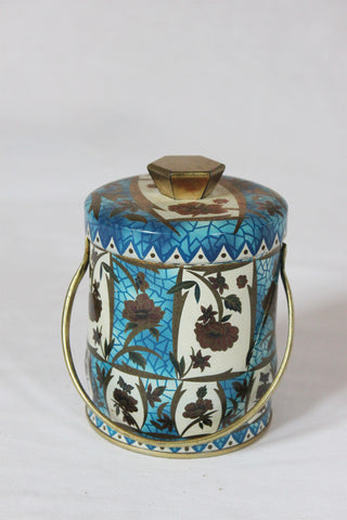 Blue Garden Tea Tin