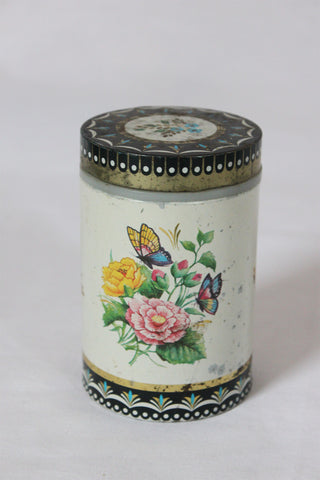 Butterfly Tea Tin