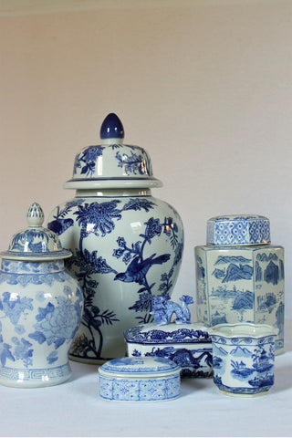 Blue and White Chinoiserie Collection
