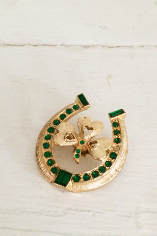 Lucky Brooch