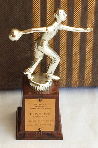 St. Nick's Womens Bowling Trophy '55-'56