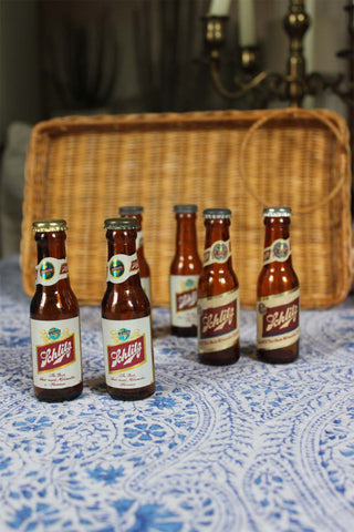 Schlitz Salt & Pepper Shakers