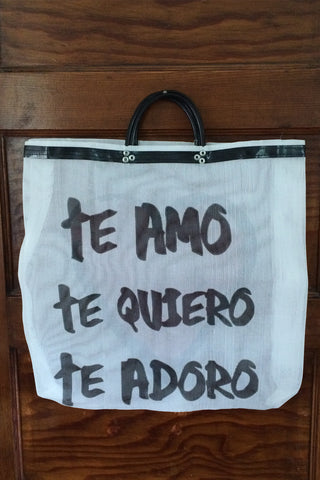 Te Amo Reusable Shopper