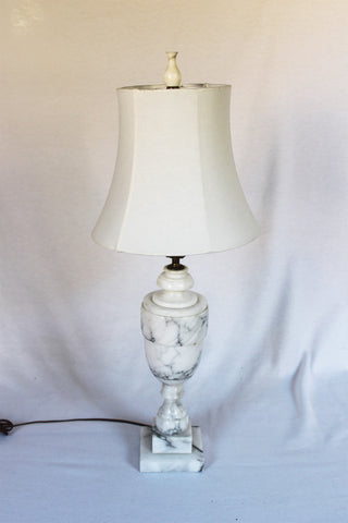Trophy Alabaster Lamp