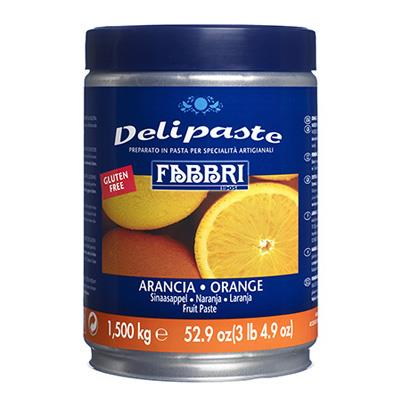 DELIPASTE ORANGE - 1.5 KG Tin