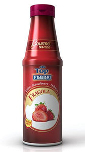 GOURMET SAUCE STRAWBERRY-S - 0.95 KG Bottle