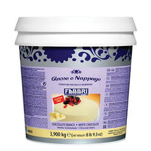 Load image into Gallery viewer, WHITE CHOCOLATE ICING - 3.9 KG Bucket