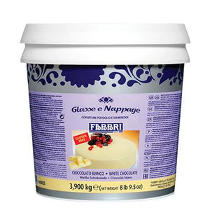 WHITE CHOCOLATE ICING - 3.9 KG Bucket
