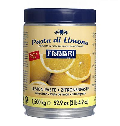 LEMON PASTE - tins 1,500 kg