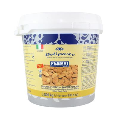 DELIPASTE ROASTED ALMOND - buckets 3,800 kg