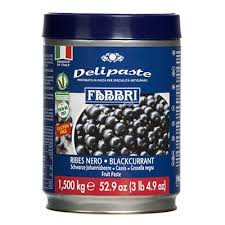 DELIPASTE BLACK CURRANT EU TIN 1.5 KG