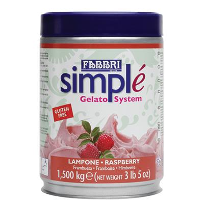 SIMPLE RASPBERRY - Tin 1.50 Kg