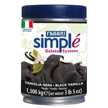 Load image into Gallery viewer, SIMPLE BLACK VANILLA - 1.4 Kg Tin