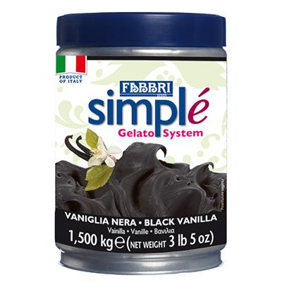 SIMPLE BLACK VANILLA - 1.4 Kg Tin