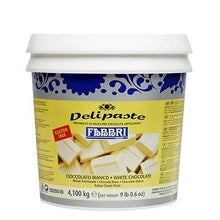 Load image into Gallery viewer, DELIPASTE WHITE CHOCOLATE - 4.1 KG Bucket