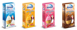 SOFT SERVE IGLOO MIX (STRAWBERRY) - 12 Ltr Carton