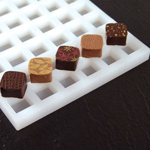 Chocolate praline mould - Square shape