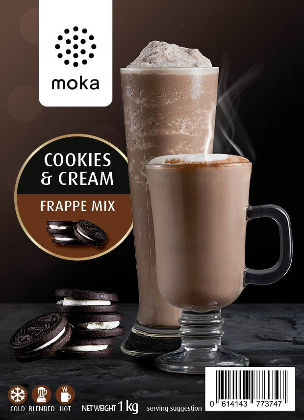 Cookies & Cream Frappe Mix