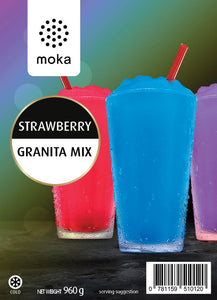 Strawberry Granita Mix