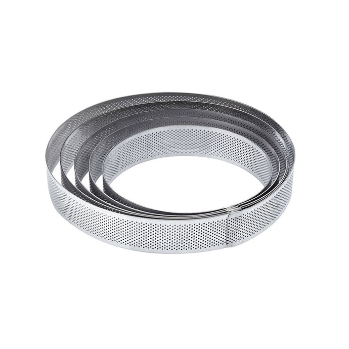 St.steel microperforated band