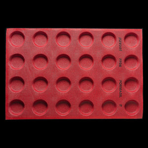ROUND SHAPES PERFORATED MOULDS - FF08 PAVONI