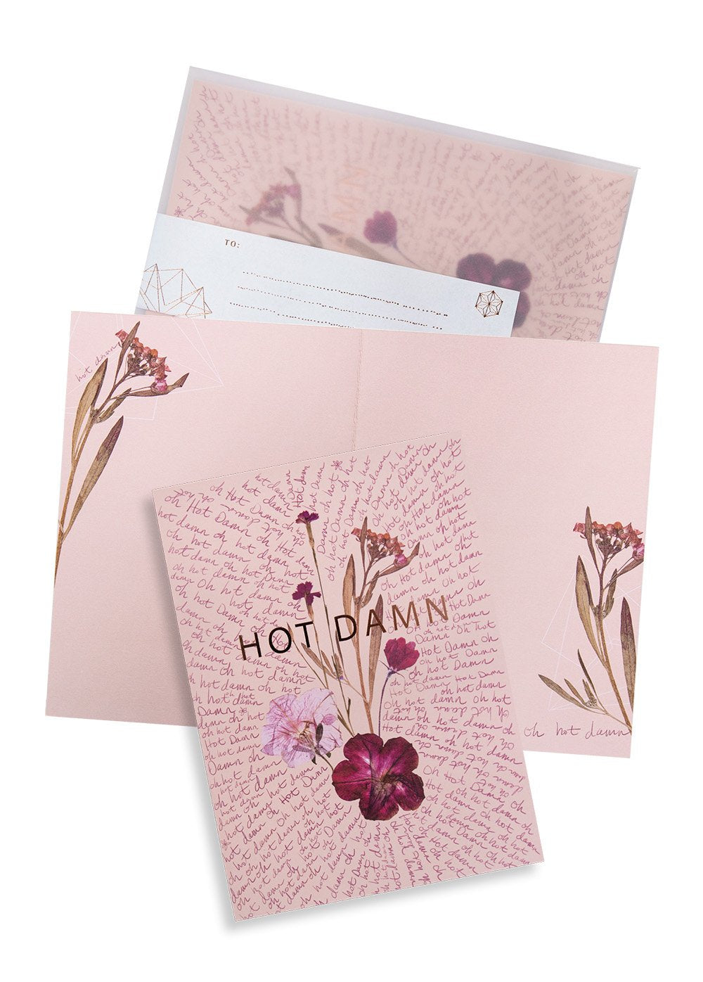 Fireweed Hot Damn Card