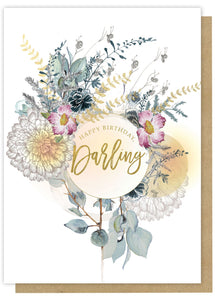 Happy Bday Darling Card