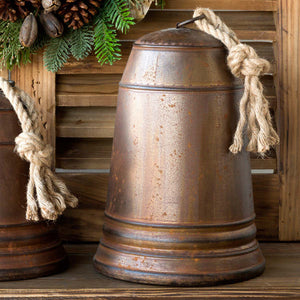 Aged Metal Bell 17""