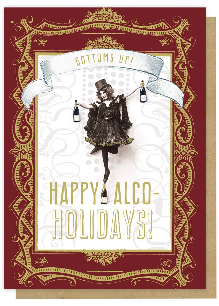 Alcoholidays Card