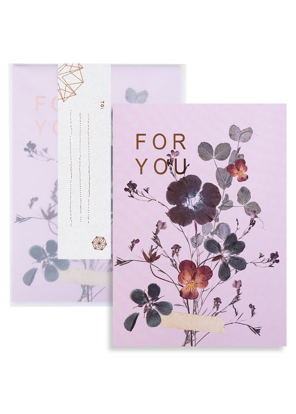 Fireweed Amethyst Card