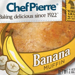 Muffin, Banana Nut - 4oz. each, 6 count ITEM 6443