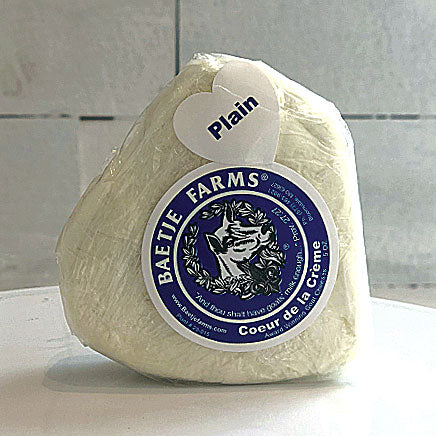 Cheese, Goat, Plain (local Baetje Farms) - 5oz. ITEM 6079