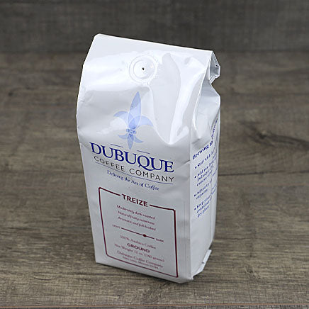 Coffee, ground, Treize (local Dubuque Coffee Co.) - 12oz. ITEM 5968