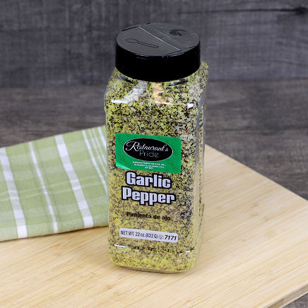 Spice, Garlic Pepper - 22oz. ITEM 5305