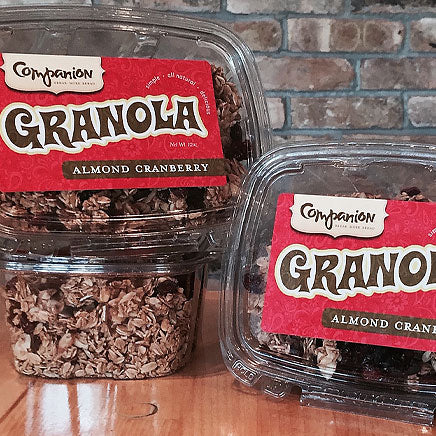 Granola, Almond Cranberry (local Companion) - 12 oz. container ITEM 6609