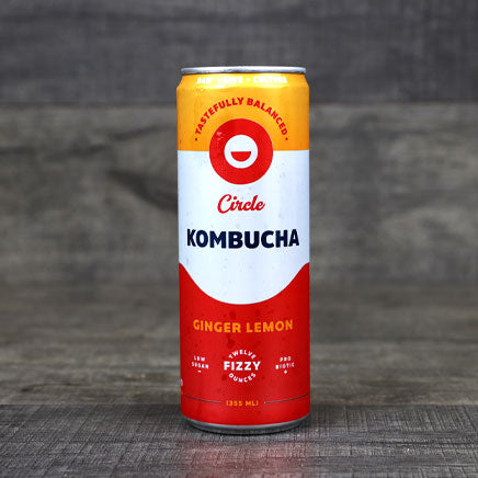 Kombucha, Ginger Lemon - 12 oz. ITEM 6873