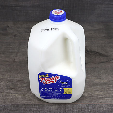 Milk, 2% - 1 gallon ITEM 208
