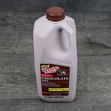 Milk, Chocolate - 1/2 gallon ITEM 5867