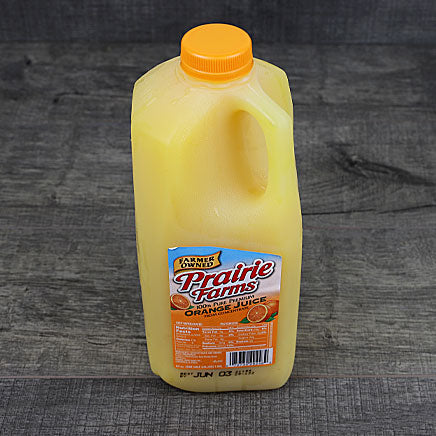 Juice, Orange - 1/2 gallon ITEM 5901