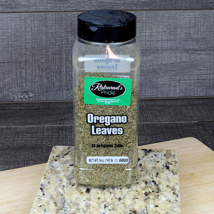 Spice, Oregano Leaf - 5oz. ITEM 5427