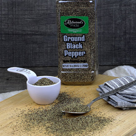 Spice, Pepper, Black, ground - 16oz. ITEM 5271