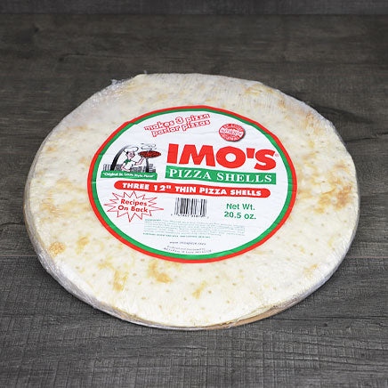 "Pizza Shell, 12""(local Imo's Pizza) - 3 pack ITEM 6461"