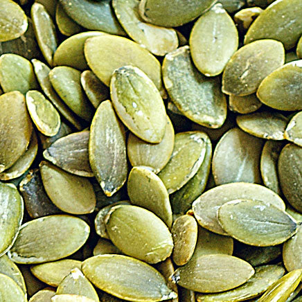 Nuts, Pepitas (Pumpkin Seeds), raw salted - 7oz. ITEM 6282