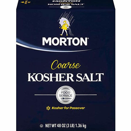 Spice, Salt, Kosher, course - 3 lb. ITEM 6316