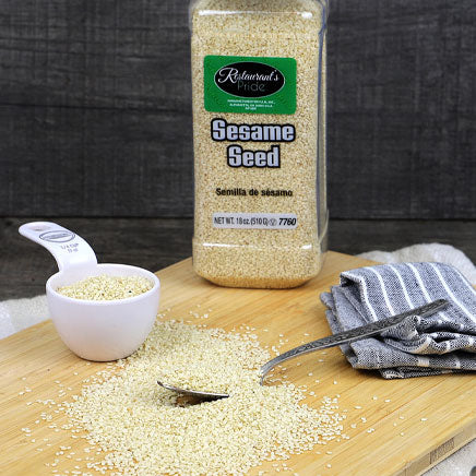Spice, Sesame Seeds - 18oz. ITEM 5319