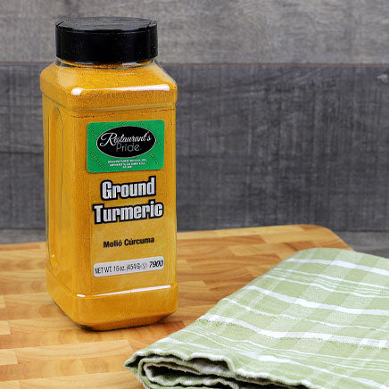 Spice, Turmeric, ground - 16oz. ITEM 5430