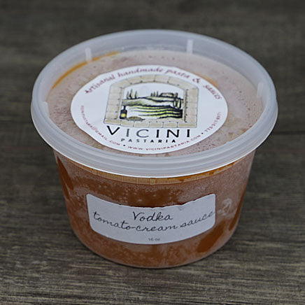 Sauce, Vodka Tomato Cream (local Vicini Pastaria) -16oz. ITEM 6396